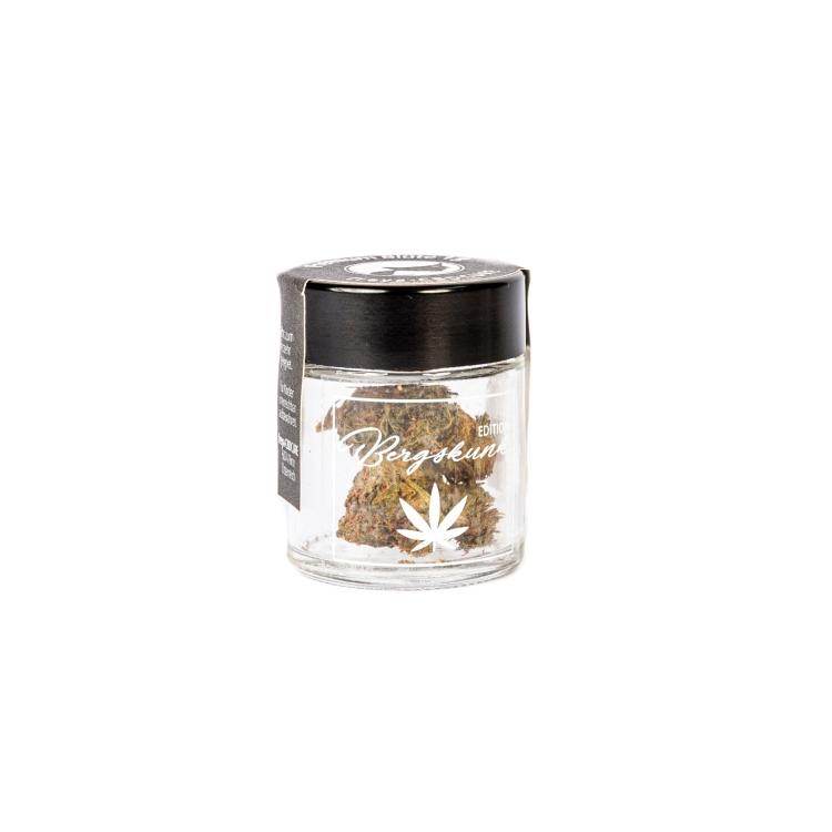 CBD Blüten 6 % CBD - Bergskunk 1 g