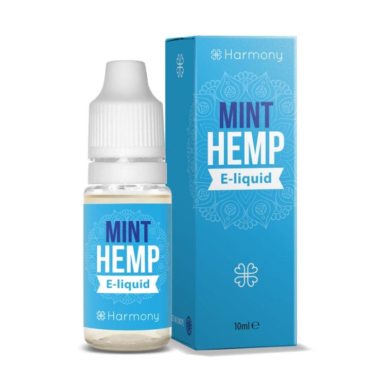 Harmony - Eliquid - Mint Hemp - 10 ml