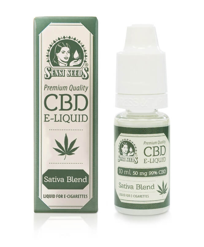 CBD e-liquid by Sensi Seeds