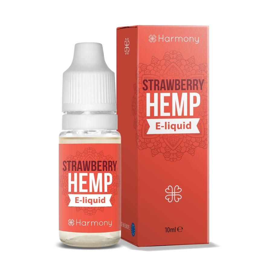 Harmony - Eliquid - Strawberry Hemp  - 10 ml