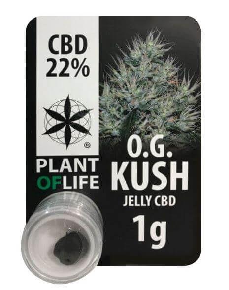 OG Kush 22% CBD Jelly