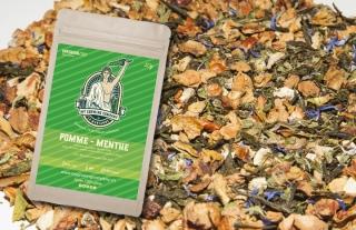 Apfel / Minze - CBD-Blüten Tee