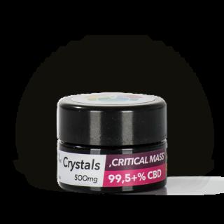 Aromakult 99,5% CBD Kristalle Critical Mass 500mg