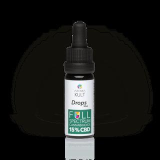 Aromakult Tropfen Vollspektrum 15 % CBD - 10 ml / 50 ml