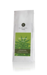 BioBloom Bio Hanfblüten Teesackerl 50g