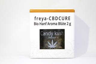 Bio Hanf CBD Blüten 6 % CBD - Candy Kush 2 g