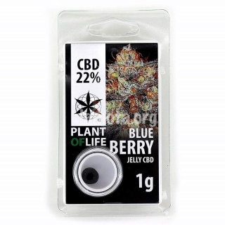 Blueberry 22% CBD Jelly