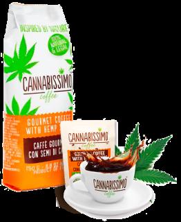 Cannabissimo Kaffee gemahlen