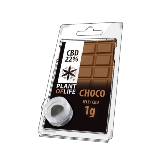 Choco (Schokolade) 22% CBD Jelly 1 g