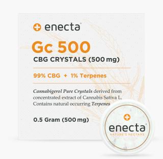 GC500 99% CBG Kristalle