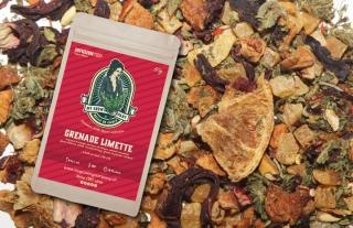 Granatapfel / Zitrone CBD-Blüten Tee
