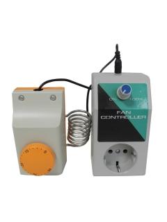 Lüftersteuerung + Thermostat
