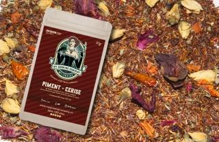 Peperoni / Cherry CBD-Blüten Tee