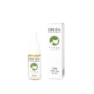Premium CBD Öl - Vollspektrum 10 % CBD - 1000mg