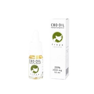 Premium CBD Öl - Vollspektrum 20 % CBD - 2000mg