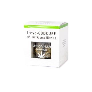 Bio Hanf CBD Blüten 6 % CBD - Lemon Haze 2 g